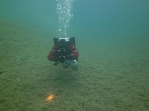 Trimix potápač